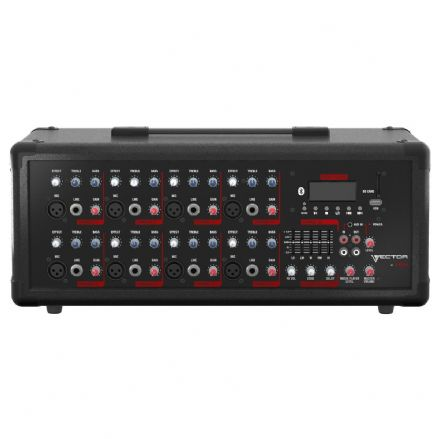 HH Electronics VECTOR 600W Powered Mixer Amp